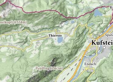 Bogensport Parcours Thiersee