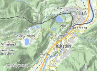 Natursee Pfrillsee Kufstein