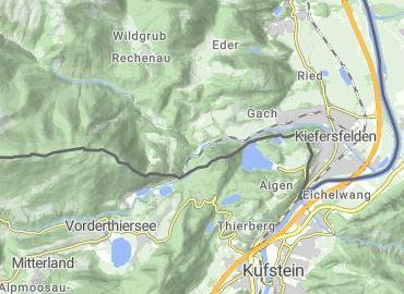 Gießenbachklamm Thiersee-Kiefersfelden