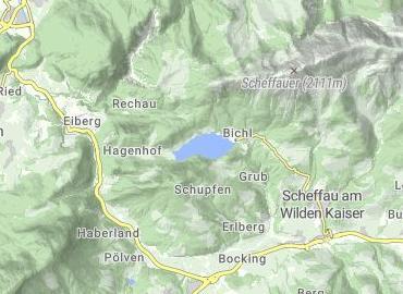 Hintersteiner See Scheffau