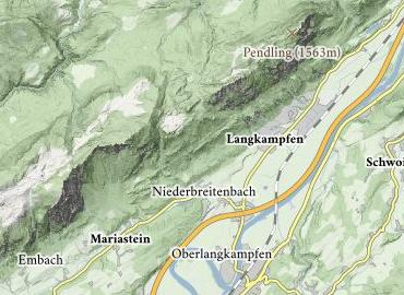 Ruine Rudersburg Langkampfen