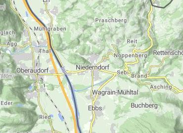 """""""Wildschütz"""" viewpoint in Niederndorf"""
