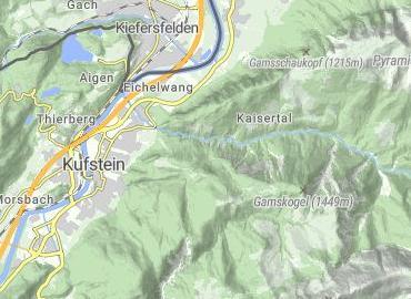 Forest chapel Kufstein
